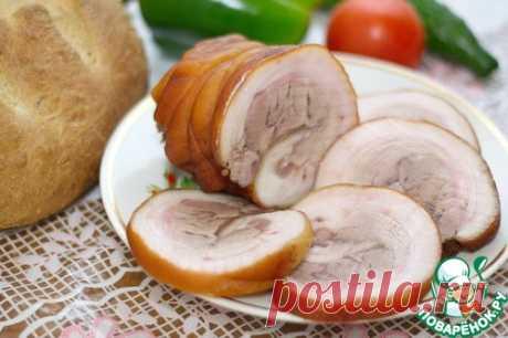 Рулет из свиной рульки в мультиварке Кулинарный рецепт