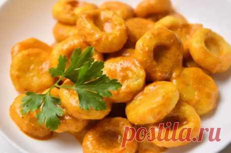 Картофельные ньокки в пряном ореховом соусе - Кулинарный Блог - медиаплатформа МирТесен