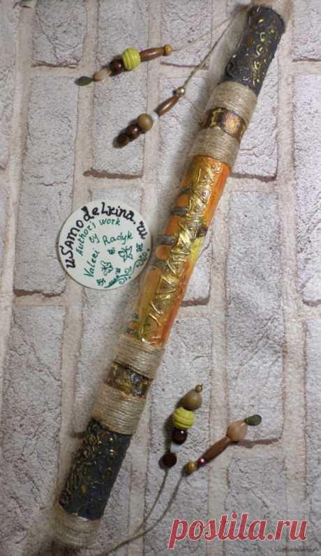 Как сделать дождь флейта | Easy Крафт Идеи