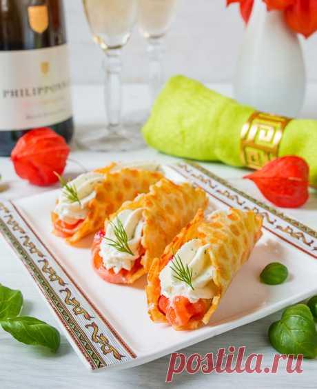 Сырные трубочки с лососем и сырным кремом - вкусные проверенные рецепты, подбор рецептов по продуктам, консультации шеф-повара, пошаговые фото, списки покупок на VkusnyBlog.Ru
