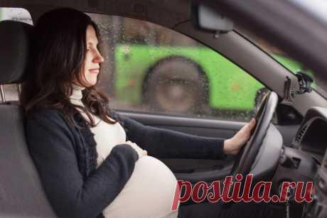 Можно ли беременным не пристегиваться ремнем безопасности в автомобиле