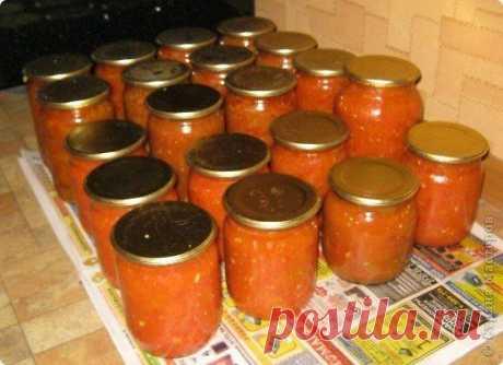 СОУС НА ЗИМУ (ЗАГОТОВКИ)  2 кг подготовленных помидоров( помытых, обрезанных от всего лишнего) 2кг подготовленных перцев( помытых и почищенных, т е в готовом к переработке виде) 100гр очищенного чеснока Показать полностью…