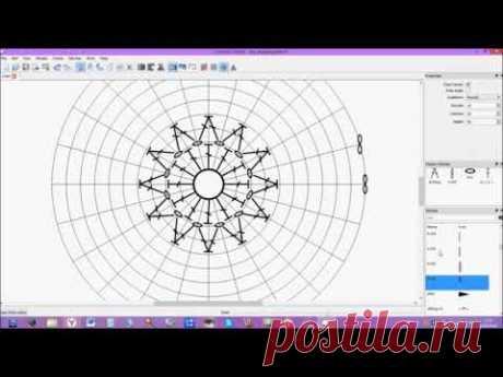Создание схемы крючком в Crochet Chart
