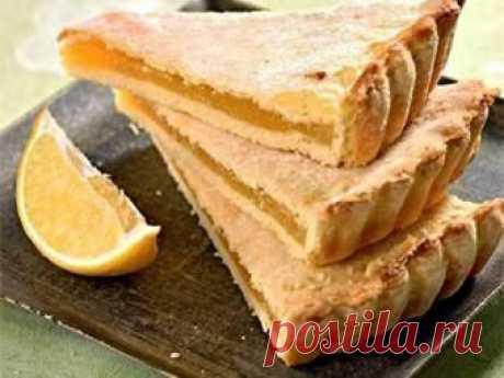 Лимонный, очень нежный пирог - домашний рецепт от Простоквашино