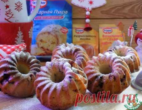 Ванильно-смородиновые кексы – кулинарный рецепт