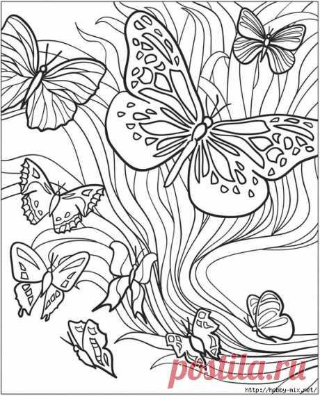 Gallery.ru / Фото #5 - Шикарные прямоугольные шаблоны.Роспись+ точечная, вышивка и - Vladikana