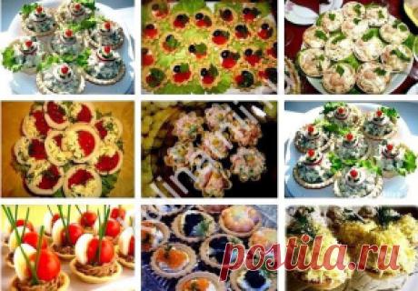 Лучшие кулинарные рецепты - 10 Вкуснейших начинок для тарталеток