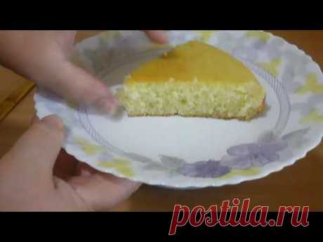 Манник на кефире очень простой и вкусный рецепт