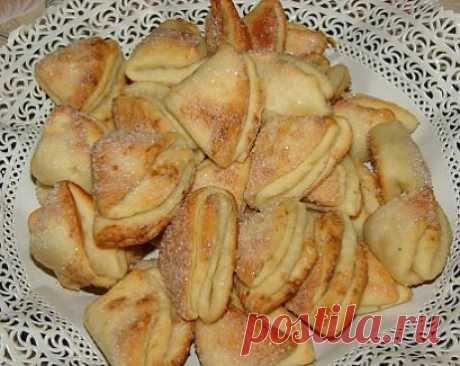 Творожое печенье - просто и вкусно