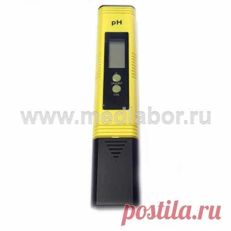 pH-метр воды ИВА-тест, гарантия, инструкция, сертификат, быстрая доставка по всей России +7(499)755-62-16
