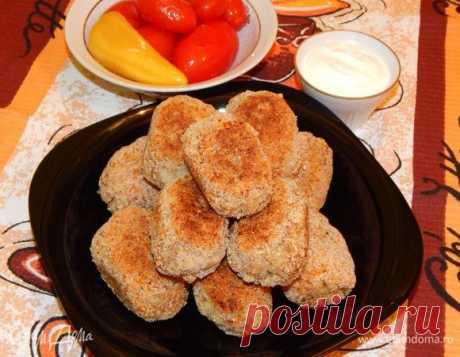 Las croquetas magras de grechki y las patatas. Los ingredientes: los copos de avena, las patatas, el grano de trigo sarraceno   el Sitio oficial de las recetas de cocina de Julia Vysotsky