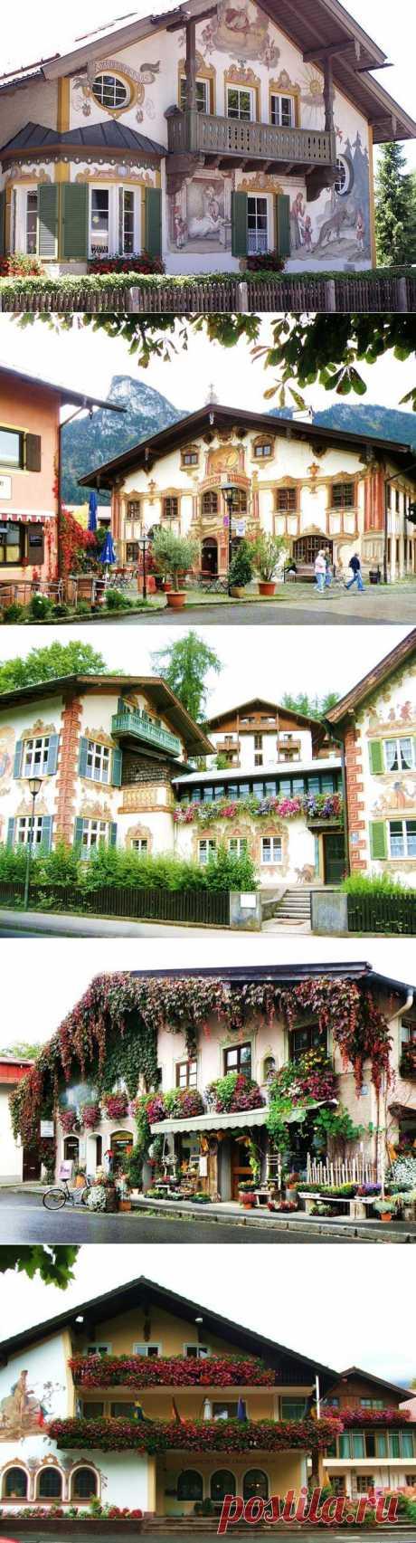 LA BAVIERA\u000d\u000a En el pueblecito Oberammergau alpino