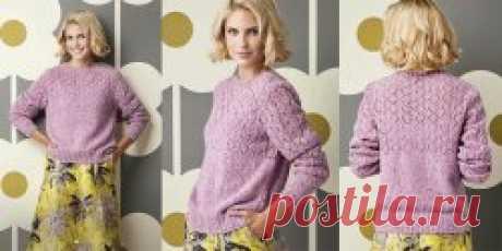 Tweed jumper Patti spokes - Вяжи.ру