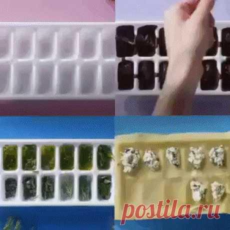4 крутых способа использовать формочки для льда 4 крутых способа использовать формочки для льда