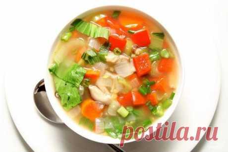 Суп для похудения - пошаговый рецепт с фото на Повар.ру