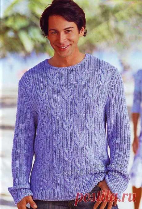 Вязаные пуловеры, свитера и джемпера для мужчин