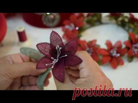 Kına Gecesi Çiçeği Yapımı :) İğne Oyası