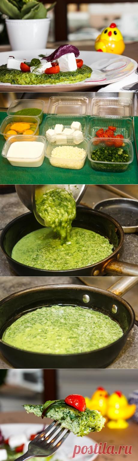 Азербайджанский омлет - пошаговый рецепт с фото - как приготовить, ингредиенты, состав, время приготовления - Леди Mail.Ru