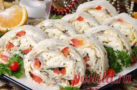 Обалденная холодная закуска на новогодний стол | БУДЕТ ВКУСНО | Яндекс Дзен