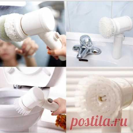 Ручная электрическая Чистящая Щетка для ванной плитки и ванной кухонный инструмент для мытья|Чистящие щетки| | АлиЭкспресс