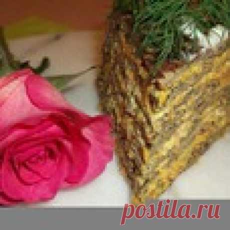 Печeночный торт № 41 - кулинарный рецепт