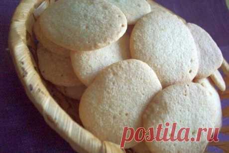 «Ленинградское» бисквитное печенье, рецепт с фото