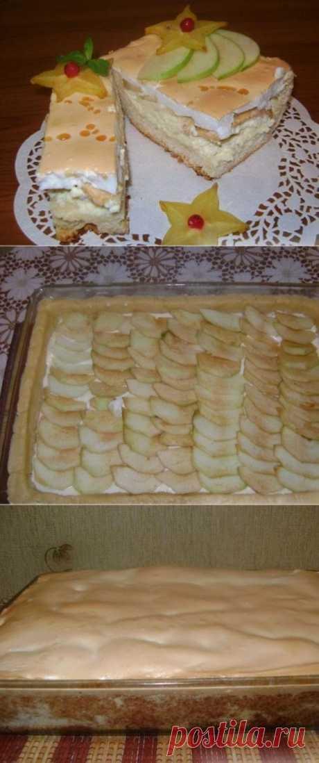 Королевский пирог (с яблоками и творогом) — самый вкусный в мире! Фантастический вкус!