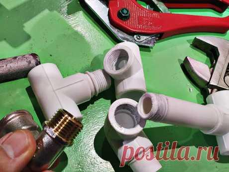 Резьба на полипропиленовой трубе: а так можно было? Как нарезать внутреннюю и наружную резьбу на полипропиленовых трубах без специальных инструментов. Горячий и холодный способ. Области применения резьбовых пластиковых соединений в быту.