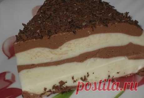 Лёгкий шоколадно-творожный десерт — Мегаздоров