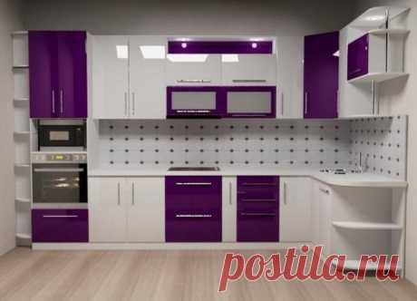Mürdüm Beyaz Mutfak Dolapları ve Mutfak Dekorasyonu Örnekleri