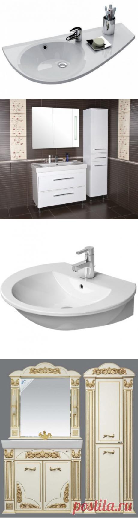 Купить мебель для ванной комнаты в комплектах с доставкой в Москве и по России