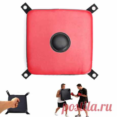 Leather wall punching pad boxing punch target training sandbag kick training sports fitness martial art muay thai Sale - Banggood.com