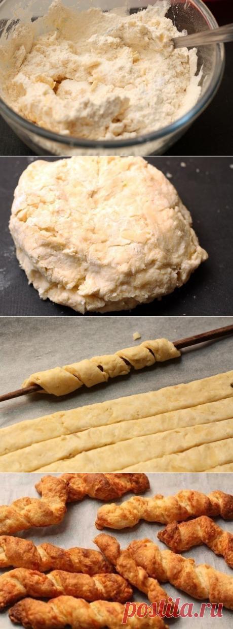 Как приготовить сырные палочки к супу - рецепт, ингредиенты и фотографии