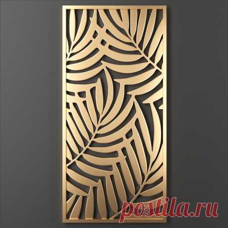 3D decorative panel - TurboSquid 1353831