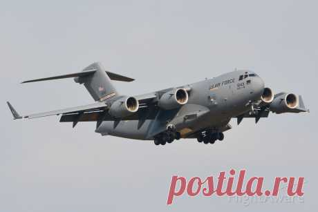 Фото Boeing Globemaster III (05-5143) - FlightAware