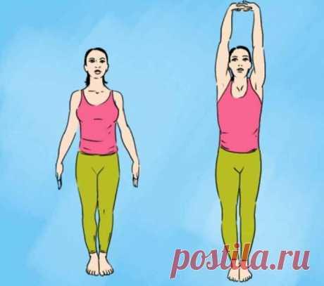 Простое упражнение после еды для стройной фигуры, улучшит пищеварение - Интернет ежедневник - медиаплатформа МирТесен