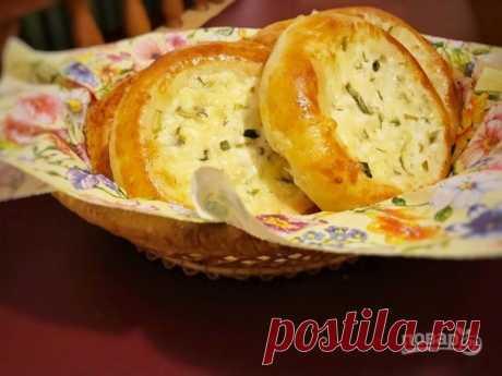 Ватрушки с сыром и зеленью - пошаговый рецепт с фото на Повар.ру