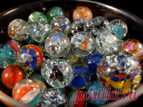 """""""Приготовьте"""" стеклянные шарики в духовке: результат вас удивит"""
