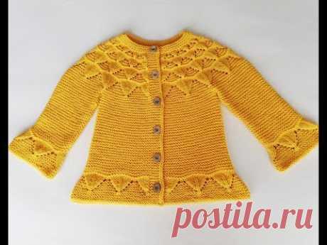 Gün Işığı Hırka / English subtitle / Sunshine baby sweater