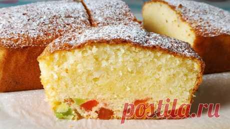 Влажный, нежный пирог – пошаговый рецепт с фотографиями