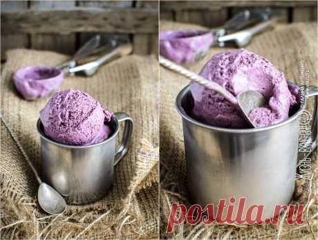 Нежное ягодное мороженое (из ежевики) • Жизнь - вкусная! Кулинарный сайт Галины Артеменко Это ягодное мороженое с ежевикой очень нежное, вкус ягодный, но такой... парфюмный. Очень легкий. А цвет... Вы и сами видите!