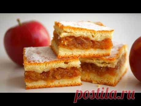 Яблочный пирог по семейному рецепту
