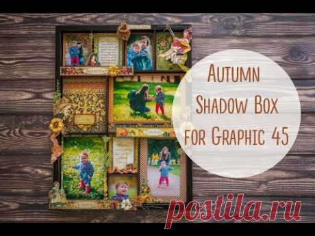 Autumn Shadow Box for Graphic 45
