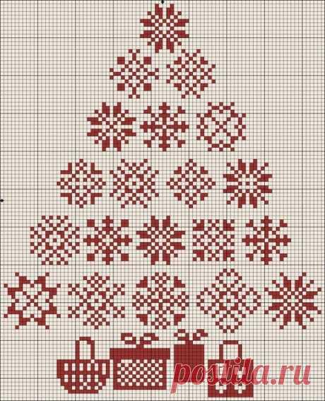 Новогодние схемы для вышивки крестом (много схем) - Новый год - Схемы вышивки крестом по категориям - Крестик - нолик. Вышивка крестом, лентами, гладью, вязание спицами и крючком, схемы, узоры, уроки, книги, журналы, программы, видеоуроки.