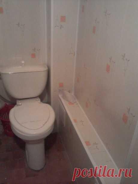 Как обшить пластиковыми панелями туалет - Только ремонт своими руками в квартире: фото, видео, инструкции