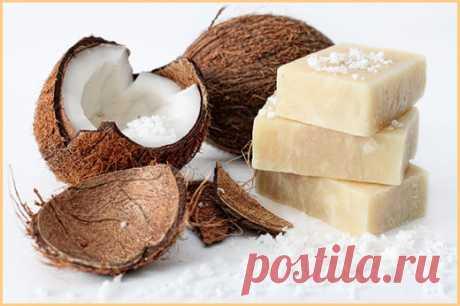 Как сделать кокосовое мыло