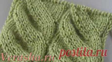 Ложная коса спицами - просто и шикарно | Вераша - о вязании в деталях | Яндекс Дзен