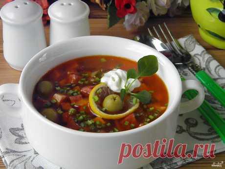 Солянка - 107 рецептов
