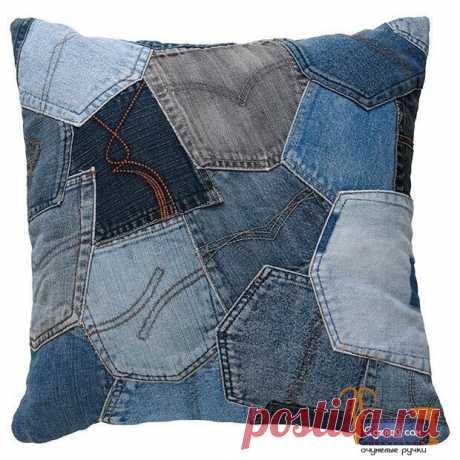 Идеи из джинсовой ткани