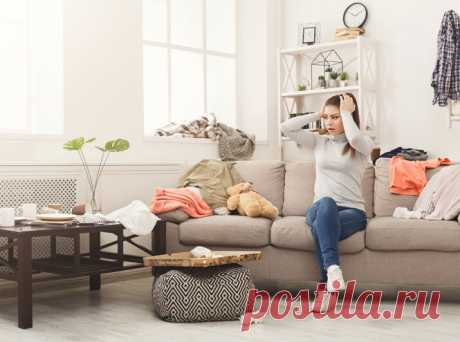 О каких психологических проблемах говорит беспорядок в доме | Marie Claire
